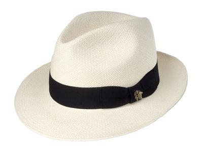 Panama Hat Classic Wit by Bigalli